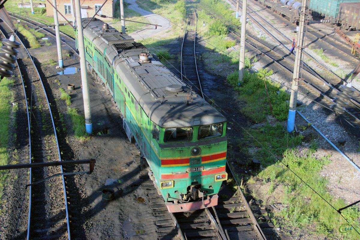 Елец. 2ТЭ10МК-3586