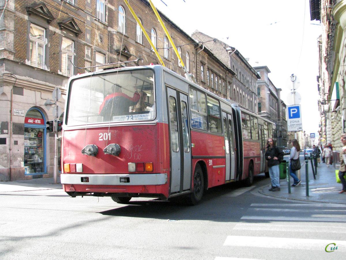 Будапешт. Ikarus 280.94 №201