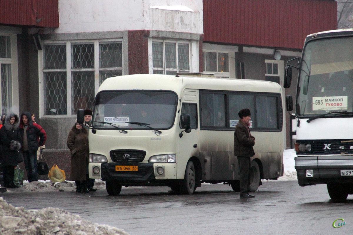 Новошахтинск. Hyundai County SWB кв046