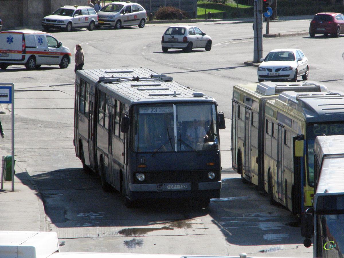 Будапешт. Ikarus 280.49 BPI-802