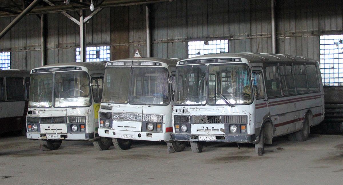 Амурск. ПАЗ-3205 а773ао, ПАЗ-3205 а951ао, ПАЗ-3205 а799ар