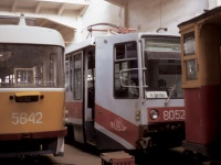 Москва. 71-608К (КТМ-8) №8052, Tatra T3SU №5642