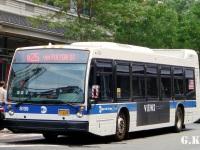 Нью-Йорк. Novabus LFS AW2496