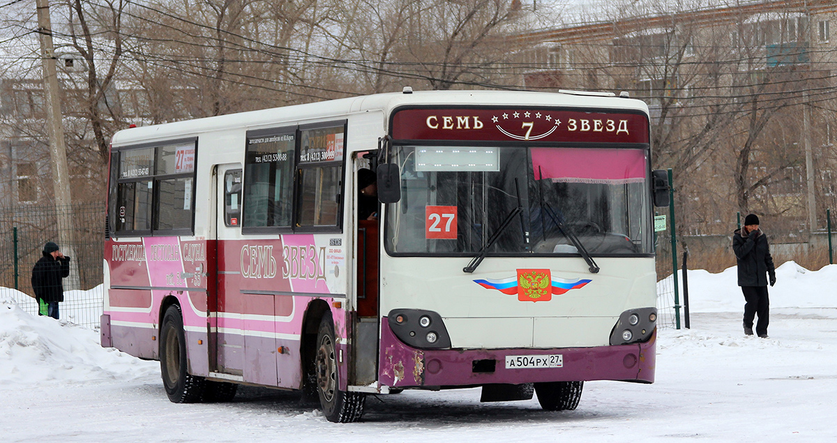 Комсомольск-на-Амуре. Daewoo BS106 а504рх
