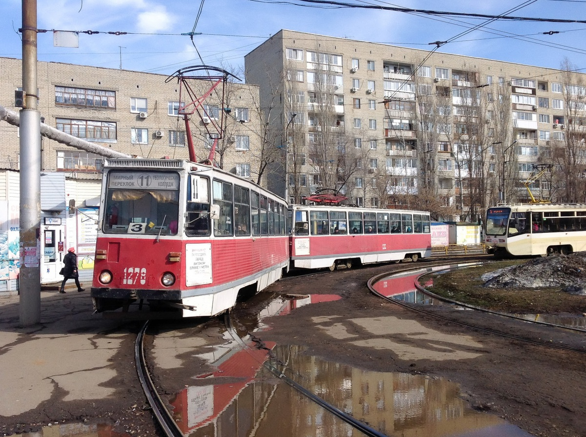 Саратов. 71-605 (КТМ-5) №1278, 71-605 (КТМ-5) №1282
