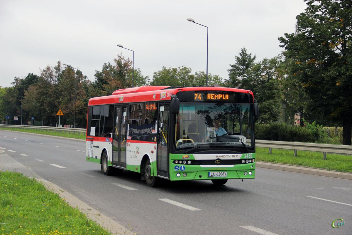 Люблин. Autosan M09LE LU 6208V