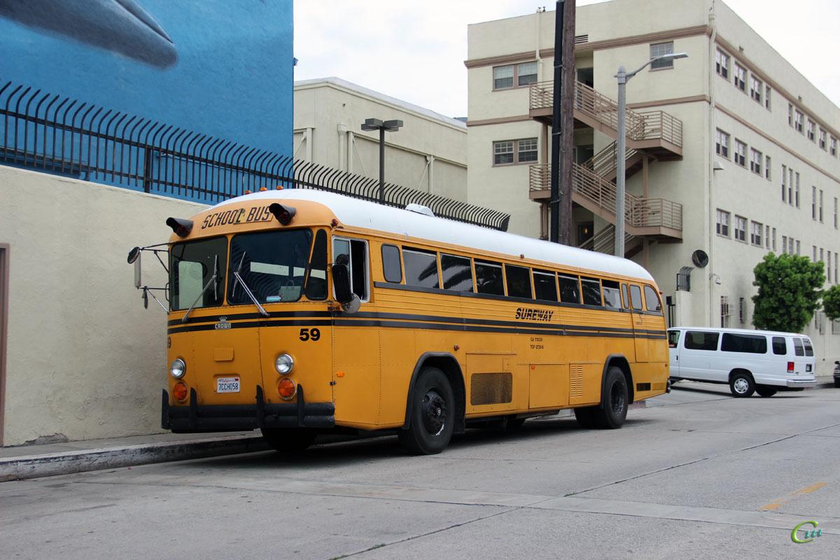 Лос-Анджелес. Crown Supercoach 7CCH058