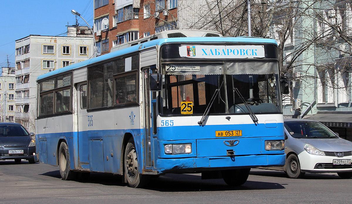 Хабаровск. Daewoo BS106 ав053