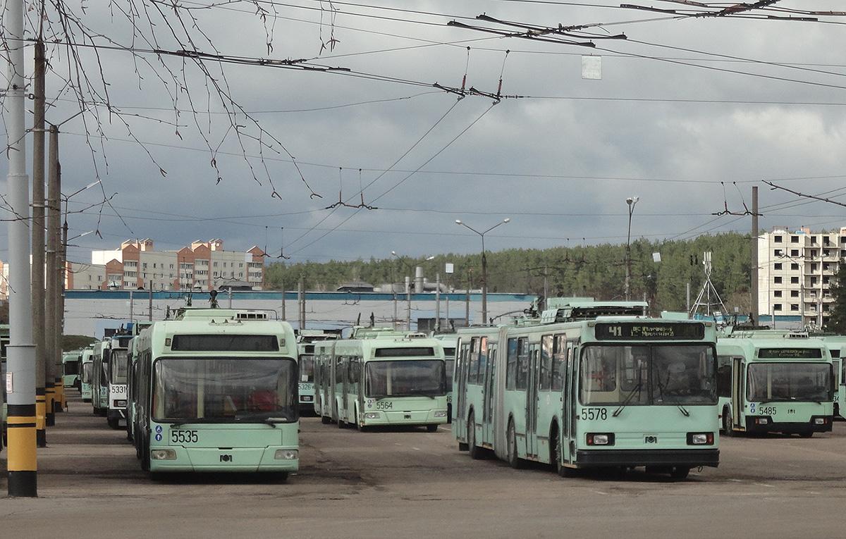 Минск. АКСМ-333 №5535, АКСМ-333 №5564, АКСМ-213 №5578
