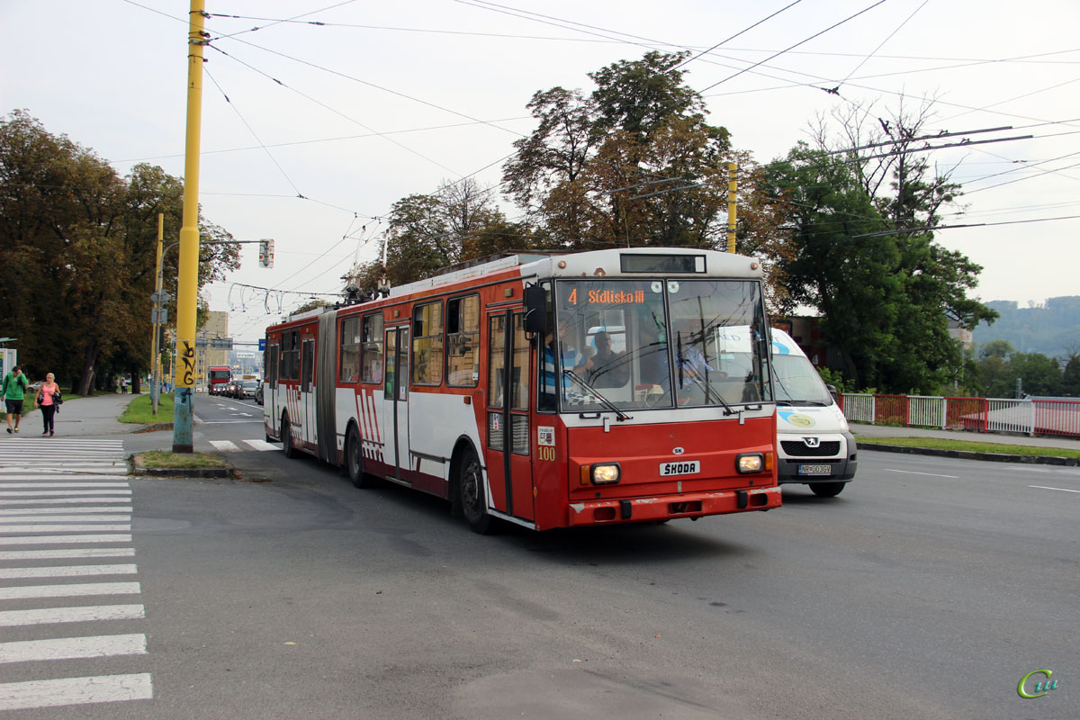 Прешов. Škoda 15Tr №100