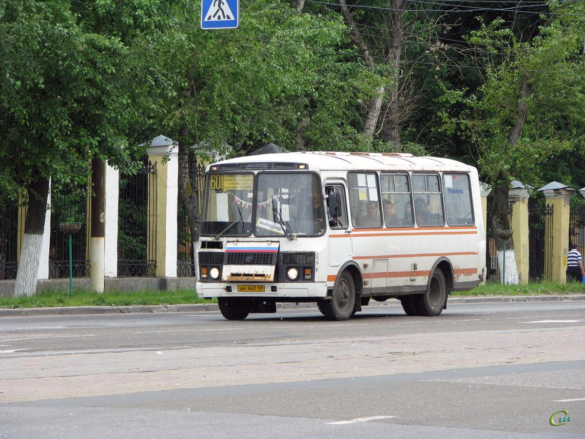 Тверь. ПАЗ-3205 ам447