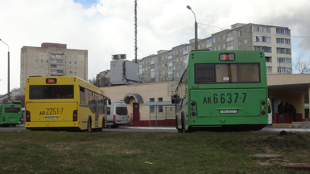 Минск. МАЗ-103.564 AO2251-7, МАЗ-103.562 AK6637-7