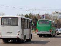 Комсомольск-на-Амуре. ПАЗ-320412 Вектор н290не, Daewoo BH116 н695не