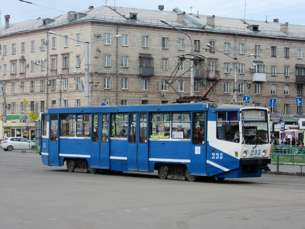 Новокузнецк. 71-608КМ (КТМ-8М) №235