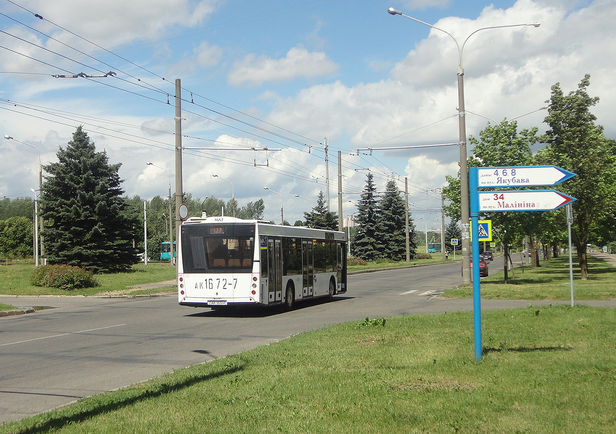 Минск. МАЗ-203.076 AK1672-7