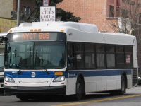 Нью-Йорк. New Flyer XD40 R-25018