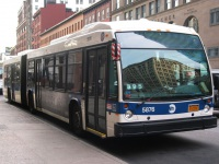 Нью-Йорк. Novabus LFS Artic R-25550