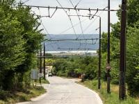 Варна. Заброшенная живописная троллейбусная ветка по краю города