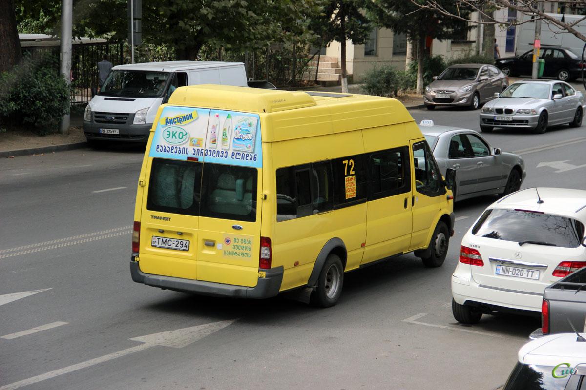 Тбилиси. Avestark (Ford Transit) TMC-294