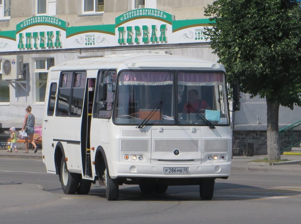 Курган. ПАЗ-320530-04 р286мв