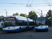 Рига. Solaris Trollino 18 №16240, Škoda 27Tr Solaris №27265