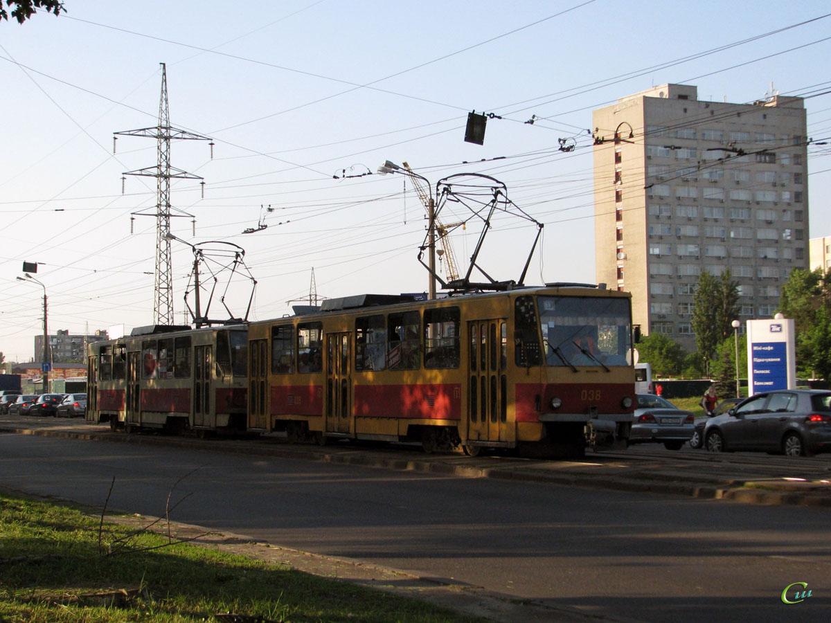 Киев. Tatra T6B5 (Tatra T3M) №038
