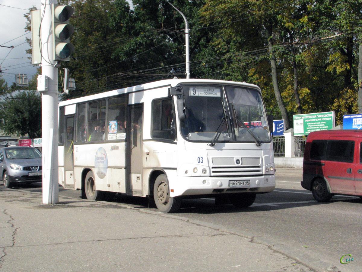 Кострома. ПАЗ-320402-03 н621нв