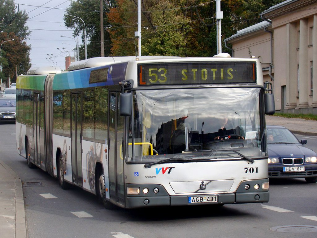 Вильнюс. Volvo 7700A AGB 431