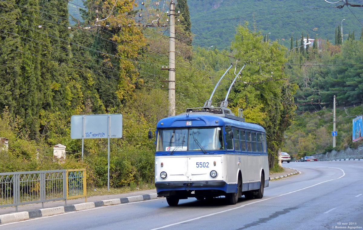 Ялта. Škoda 9Tr19 №5502