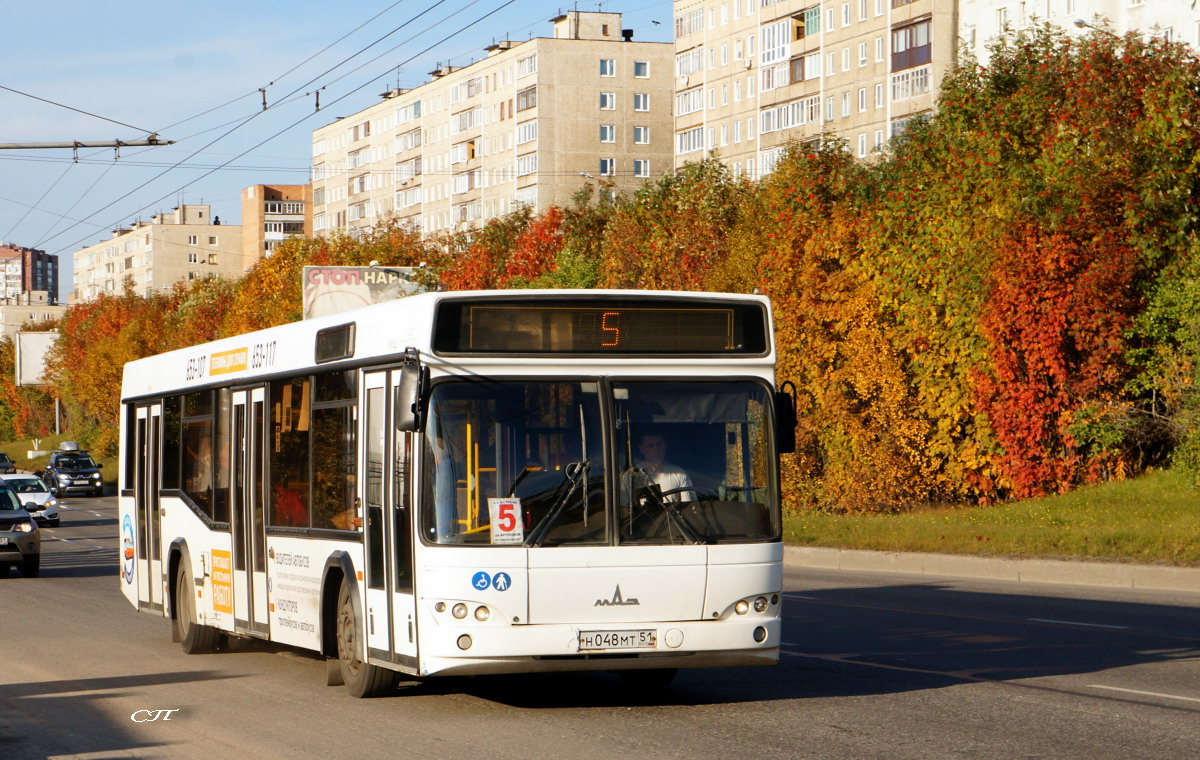 Мурманск. МАЗ-103.465 н048мт