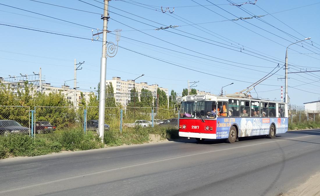 Саратов. ЗиУ-682Г-012 (ЗиУ-682Г0А) №2187