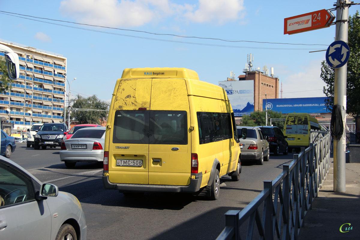 Тбилиси. Avestark (Ford Transit) TMC-506