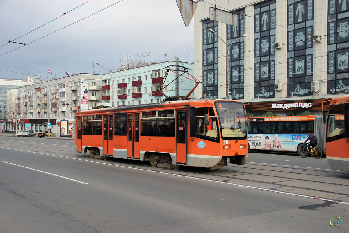 Пермь. 71-619КТ (КТМ-19КТ) №111