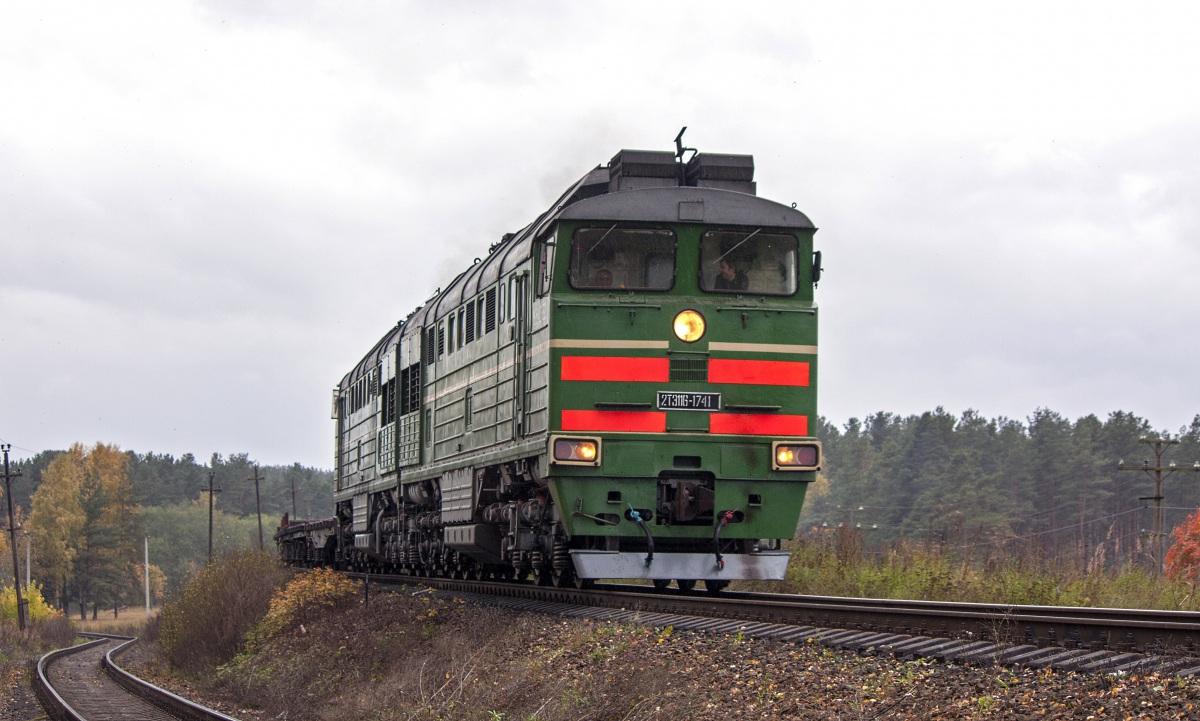 Луга. 2ТЭ116-1741