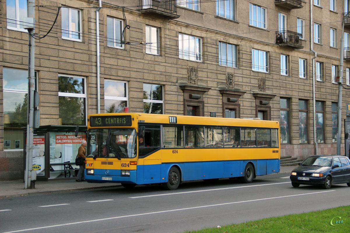 Вильнюс. Mercedes-Benz O405 VVR 032
