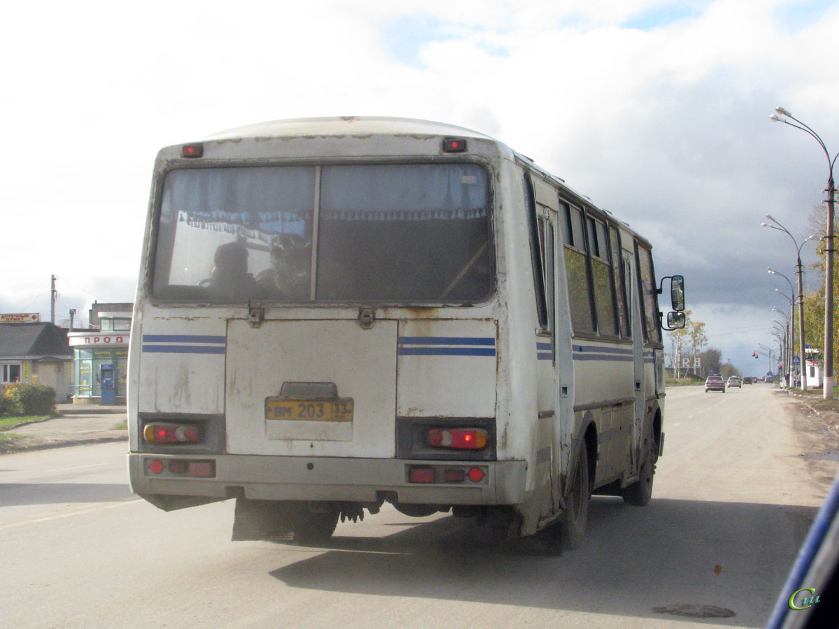 Вязники. ПАЗ-4234 вм203