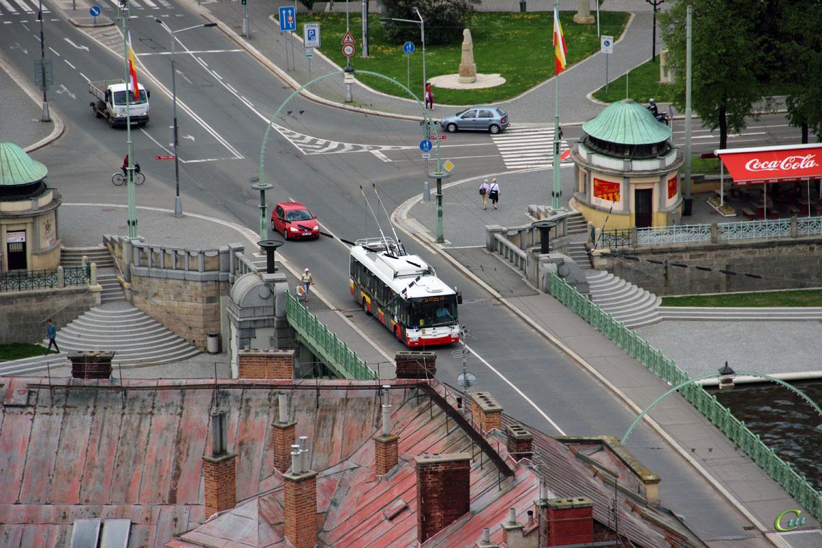 Градец-Кралове. Škoda 30Tr SOR №11