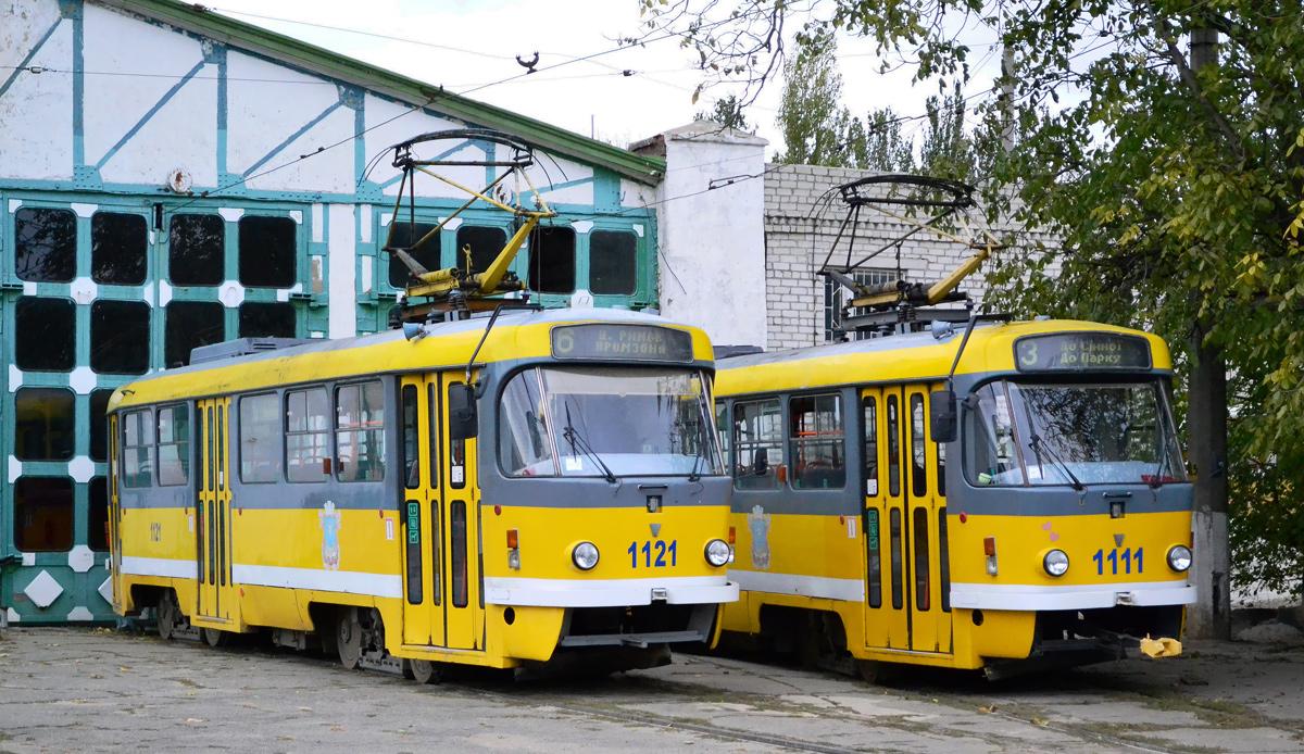 Николаев. Tatra T3M.03 №1111, Tatra T3M.03 №1121