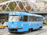 Москва. Tatra T3 (МТТЧ) №3455