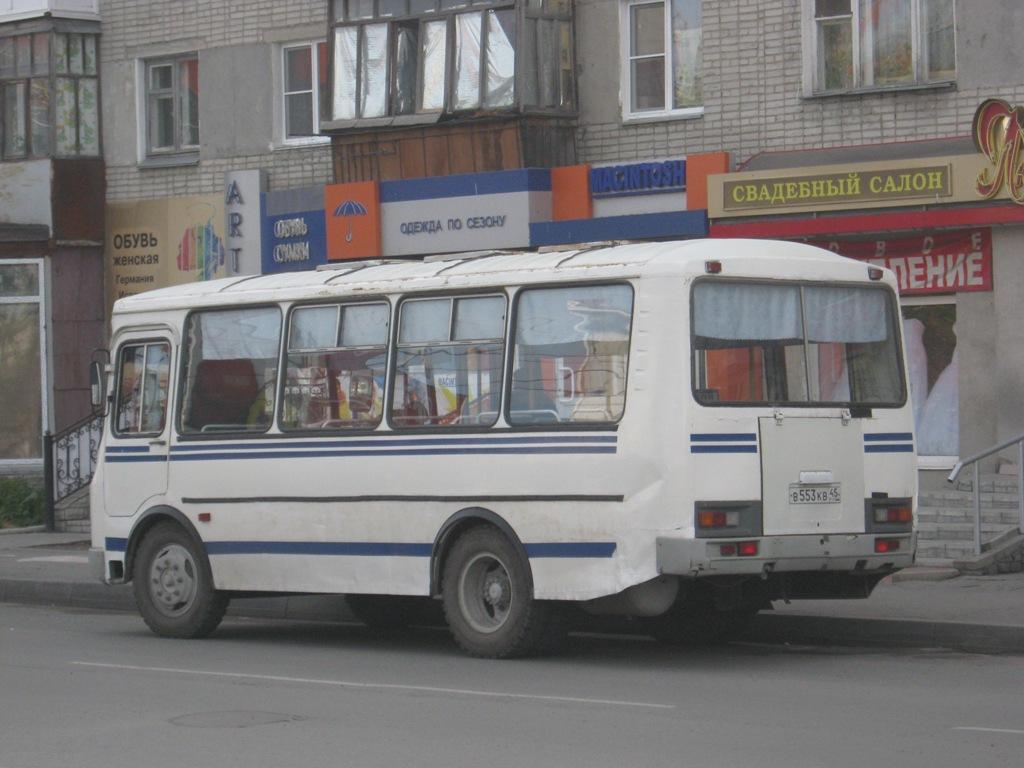 Курган. ПАЗ-32053 в553кв