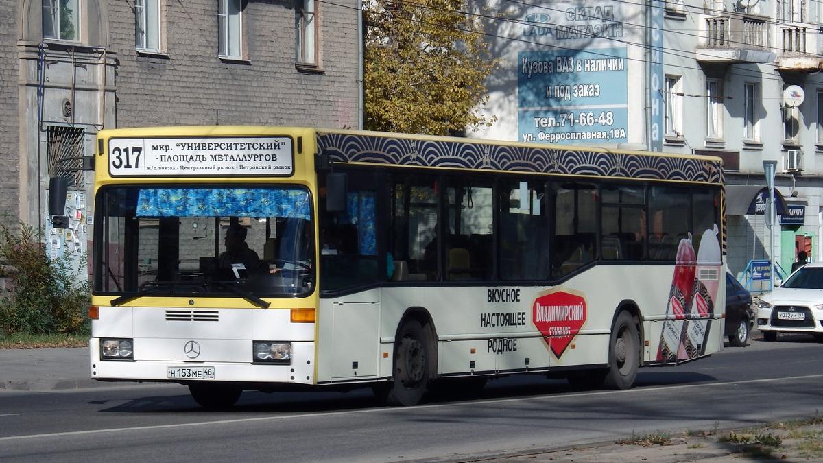 Липецк. Mercedes-Benz O405N н153ме