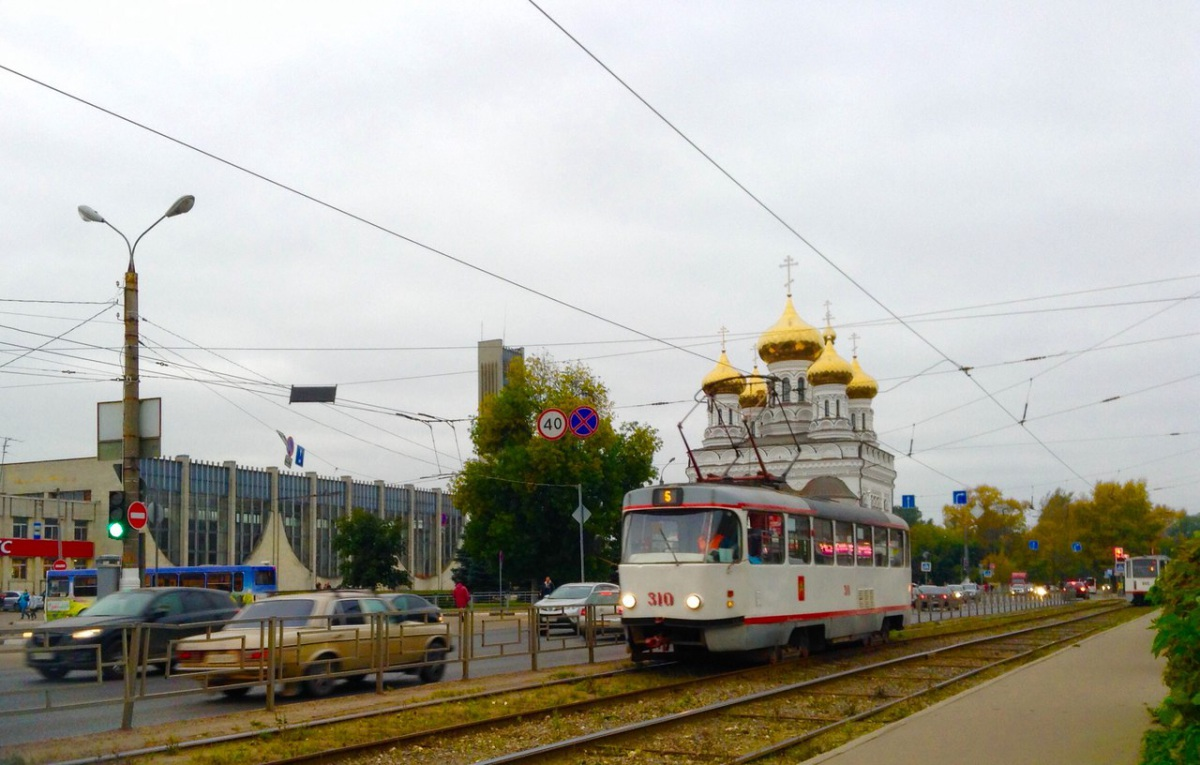 Тверь. Tatra T3SU №310