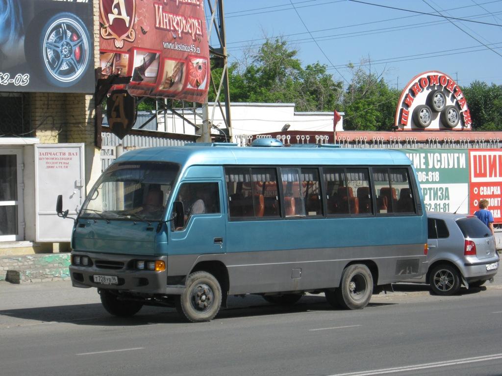 Курган. Hyundai Chorus т728ув