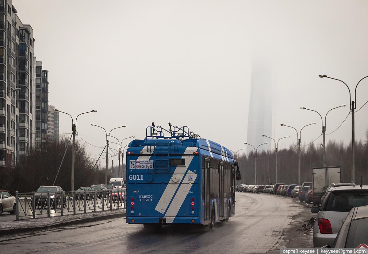 Санкт-Петербург. ТролЗа-5265.08 Мегаполис №6011