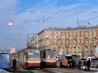 Санкт-Петербург. ЛВС-86К №7006, 71-134А (ЛМ-99АВ) №7307