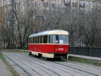 Москва. Tatra T3 (МТТЧ) №3401