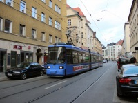 Мюнхен. Adtranz R2.2 №2162