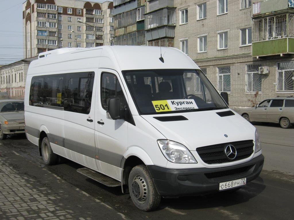 Курган. Луидор-2236 (Mercedes-Benz Sprinter) о668рн