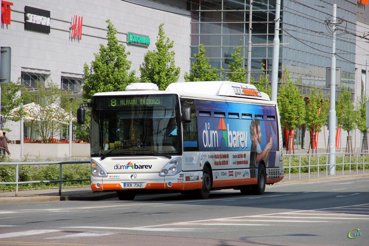 Пардубице. Irisbus Citelis 12M CNG 3E8 7342