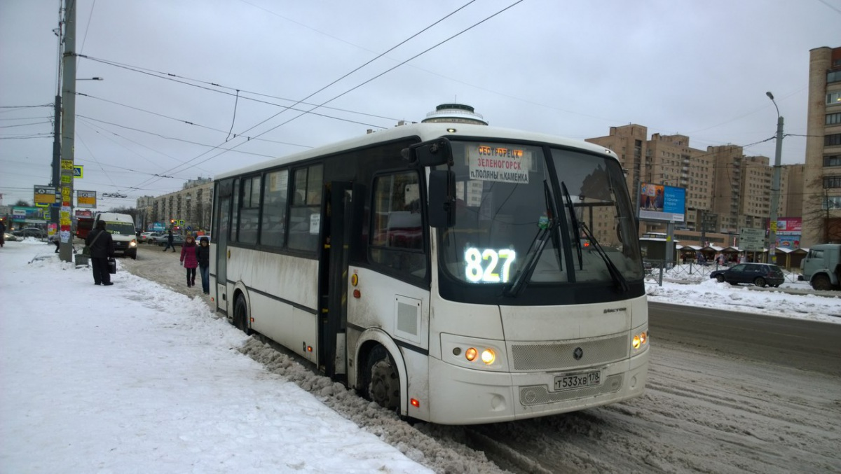 Санкт-Петербург. ПАЗ-320412-05 т533хв